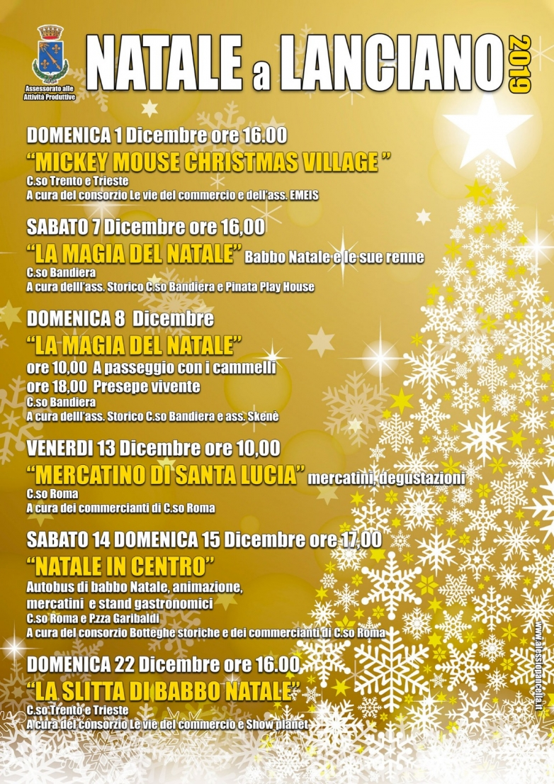 Natale 2019 a Lanciano